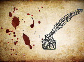 Bleeding inkwell