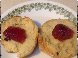cranberry scones 1