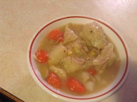 Turkey and Dumplings 1