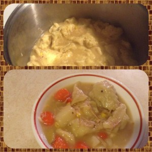 Turkey and Dumplings 3