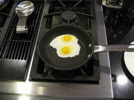 Fried Eggs for Breakfast